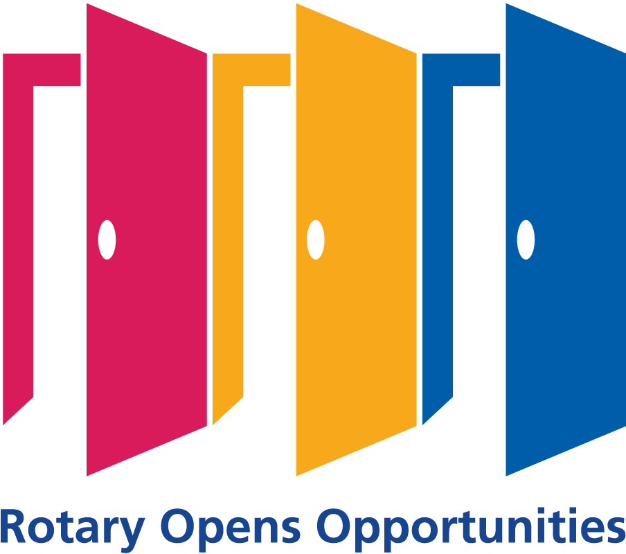 Presidential Theme Logo 2020-21 - Rotary Opens Opportunities